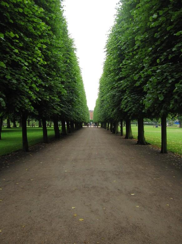 Garden in Copenhagen