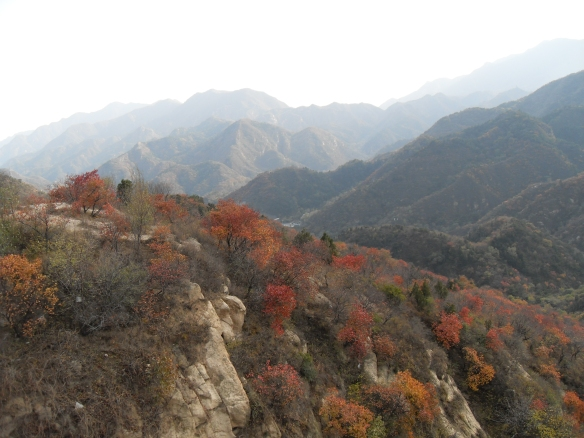 Mountains near the great wall