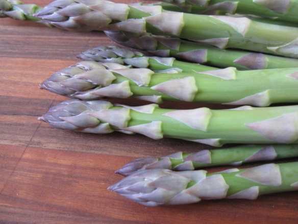 Asparagus from the garden