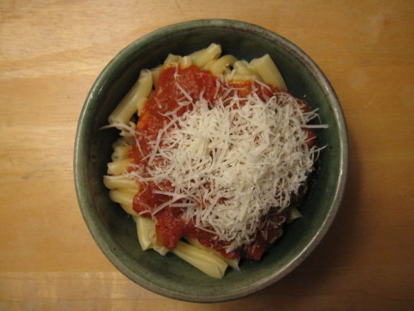 With Parmesan