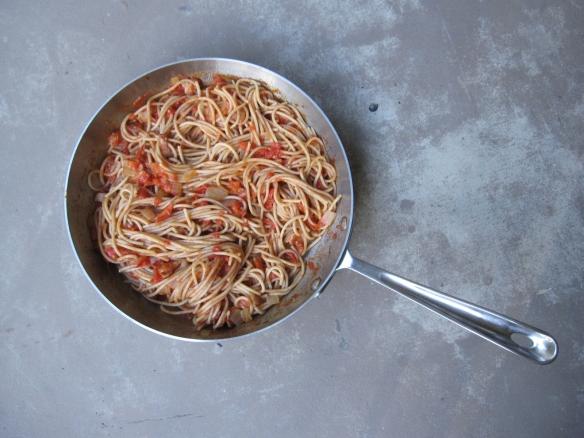 Pan of pasta