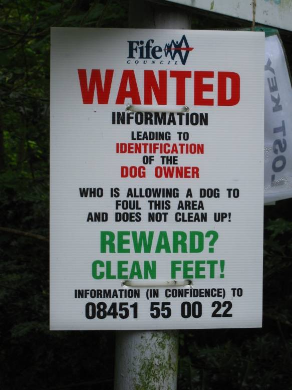 St Andrews Wanted Poster