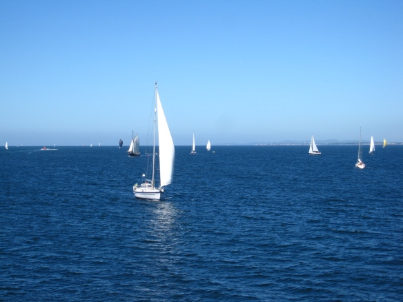 More sailboats