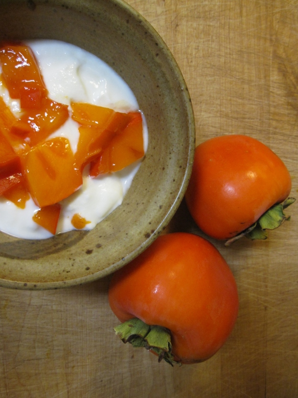 Persimmon Yogurt